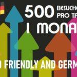 Besucher 1 Monat German